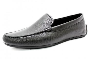 CLARKS REAZOR EDGE BLACK Schuhe CLARKS Herren Slipper (Gummisohle) schwarz REAZOR EDGE BLACK 14703020 Lederfutter Gummisohle Mokassin Leder 26124194