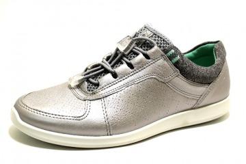timeless design a6804 fe67a ECCO SENSE ALUSILVER Schuhe ECCO Damen Halbschuhe (sportiv) grau/silber  SENSE ALUSILVER 23521013 Touch-it Weichtritt Formgummisohle Sneaker Leder  ...