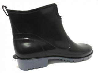 Bockstiegel Pvc Schwarz Schuhe Damen Gummistiefel Textilfutter Standard Elke 0 85509007 Profilsohle 54424 tshQrCdx