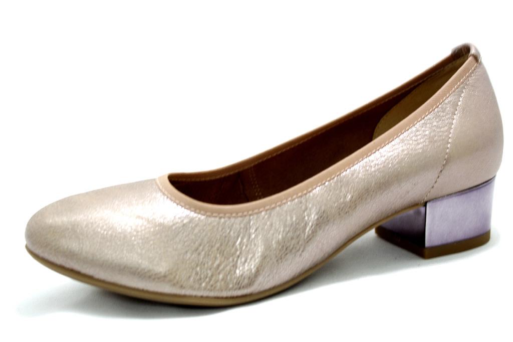 f520fb73614a36 CAPRICE ROSE METALLIC H Schuhe CAPRICE Damen Pumps (bequem) combi ...