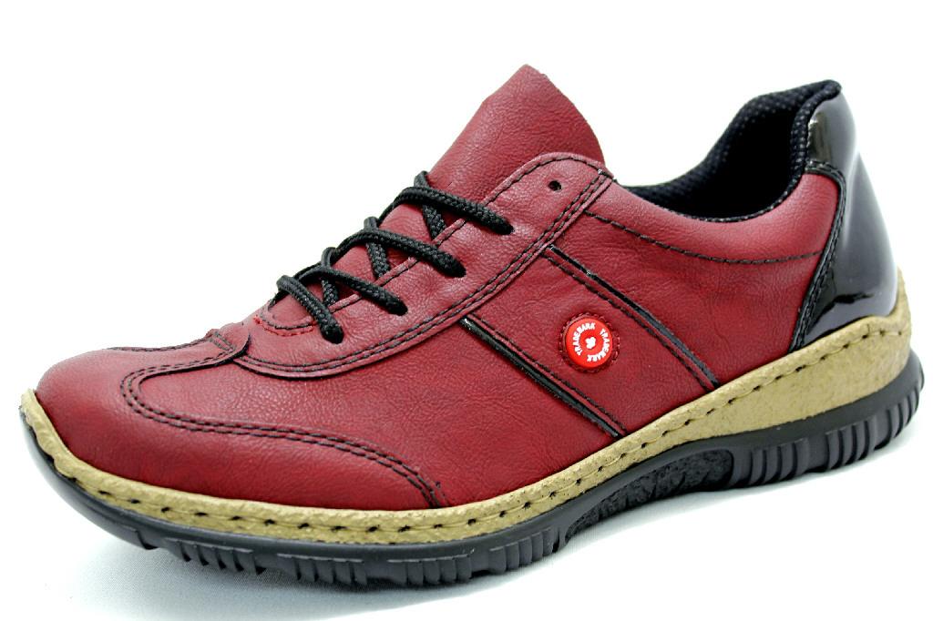 RIEKER NEW VINO Schuhe RIEKER Damen Halbschuhe Halbschuhe Damen (modisch) rot pink ... 0b9693