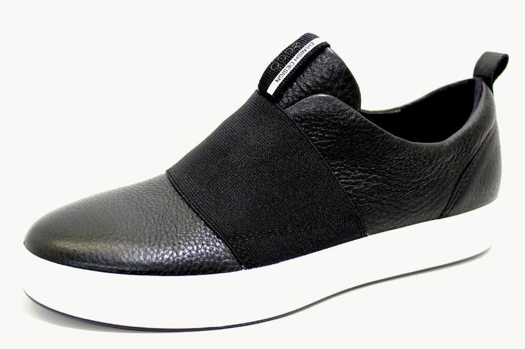 2a9a2bfe646e84 ECCO SOFT 8 BLACK Schuhe ECCO Damen Slipper (modisch) schwarz SOFT 8 ...