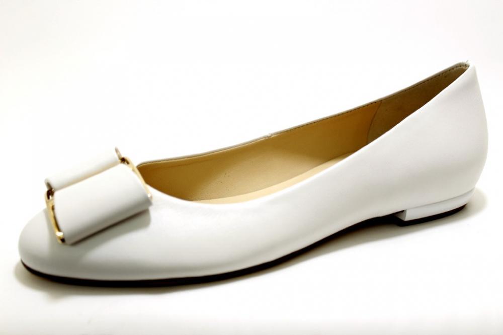 the latest 5260c ca142 HÖGL WEISS Schuhe HÖGL Damen Ballerina (flach) weiß/hell ...
