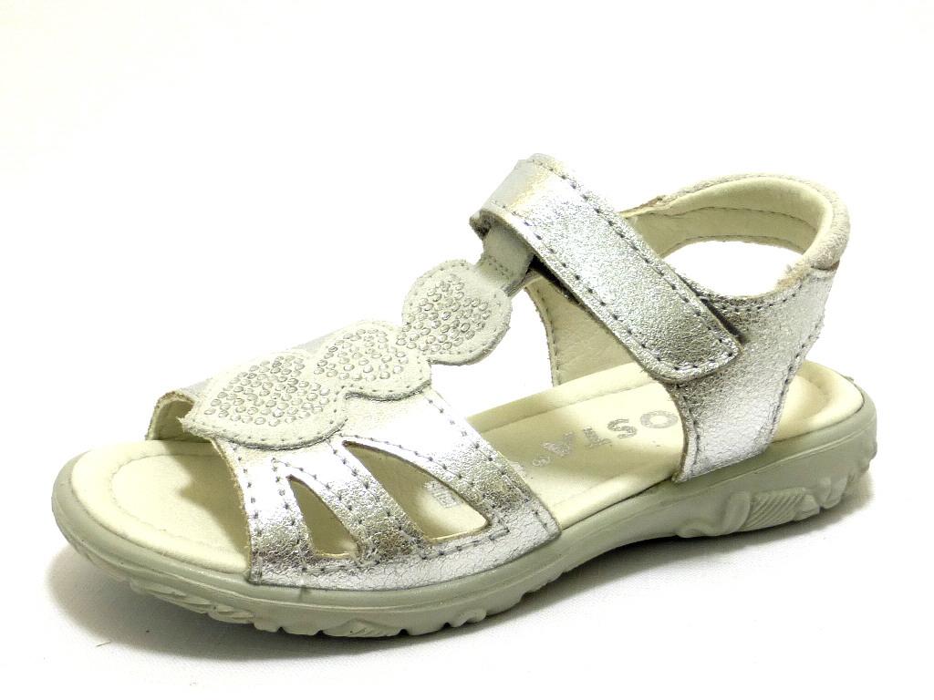 09a493fe147325 RICOSTA SILBER Schuhe RICOSTA Kleinkinder Sandalen (Mädchen) grau ...