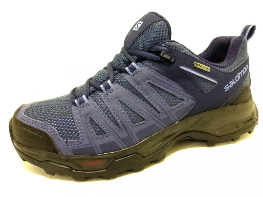 SALOMON EASTWOOD GTX BLUE Schuhe SALOMON Outdoor-Halbschuhs-Da. blau ... f05705e039b