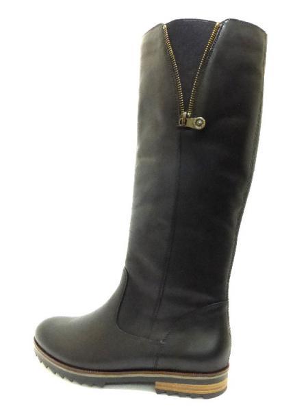 d2412aefeacc REMONTE SCHWARZ Schuhe REMONTE Damen Stiefel (flacher Absatz ...