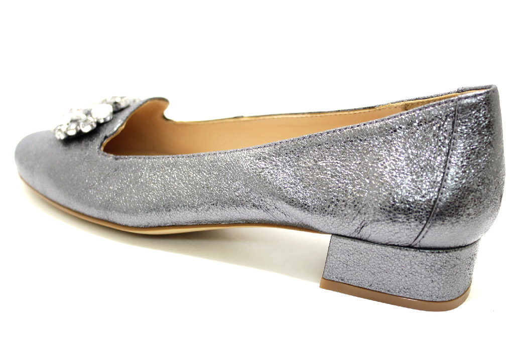 b1a05f6b5baed6 UNISA STEEL Schuhe UNISA Damen Ballerina (flach) grau silber STEEL ...