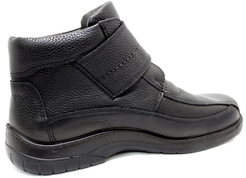 5d5d9e739d04e1 JOMOS FEETBACK SCHWARZ Schuhe JOMOS Herren Boots (Warmfutter ...