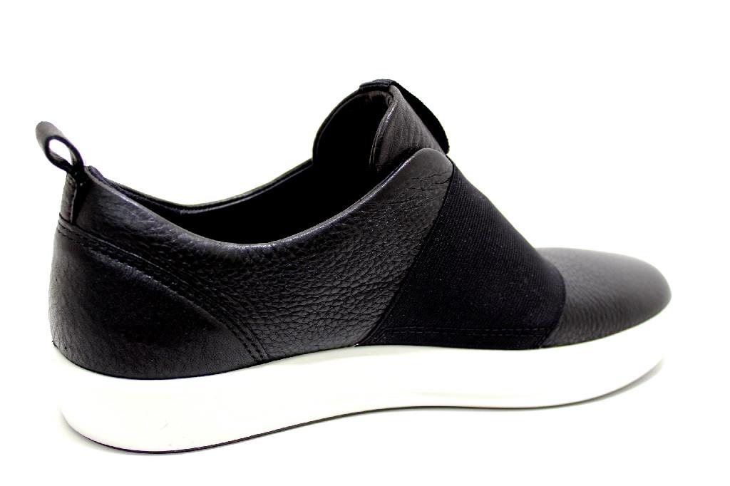 newest ddfd9 d08b1 ECCO SOFT 8 BLACK Schuhe ECCO Damen Slipper (modisch ...