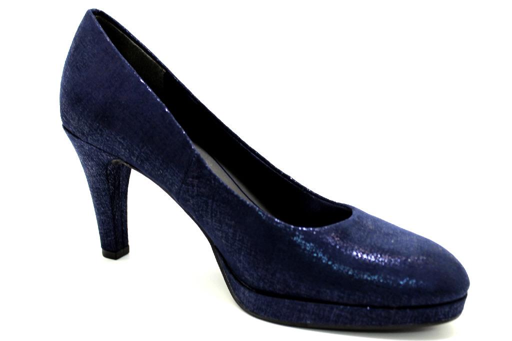 Marco Tozzi Damen Pumps 2-2-22404-30/824 blau/metallic Damen dQANyhLAF